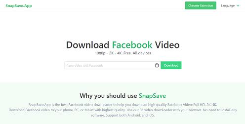 Download Video Facebook Full HD 1080p - Facebook Downloader